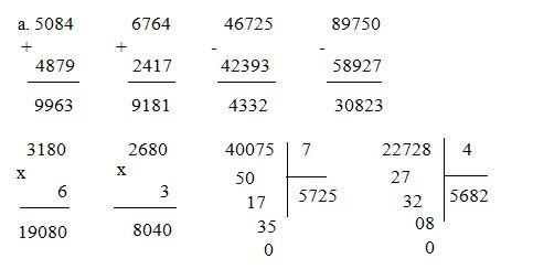 Giải Toán lớp 4 VNEN bài Ôn tập các số đến 100000