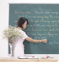 Kinh nghiệm viết bảng đẹp cho giáo viên