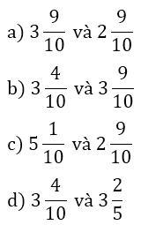 Giải bài tập 1, 2, 3 trang 14 SGK Toán lớp 5