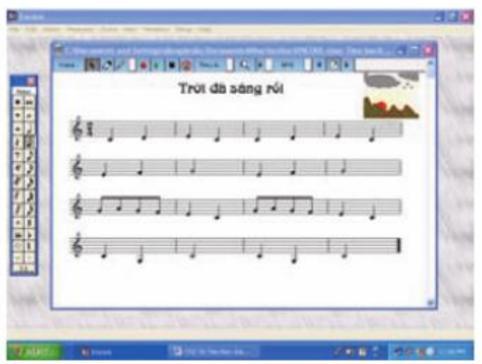 Em học nhạc với Encore (tiếp)