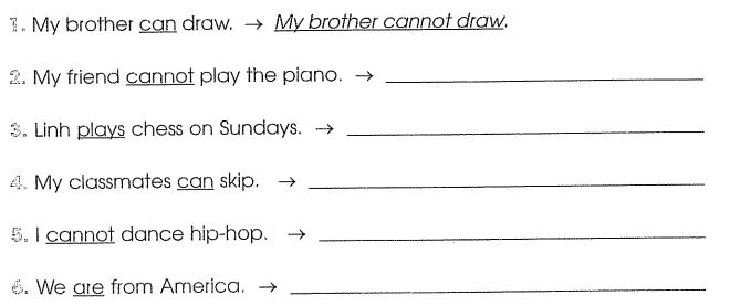 Bài tập cuối tuần môn Tiếng Anh lớp 4 Tuần 7