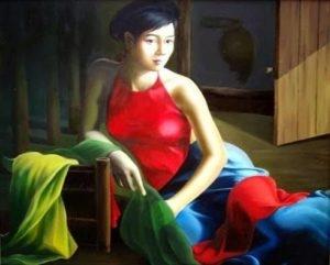 Bài văn mẫu về hình tượng người phụ nữ Việt Nam