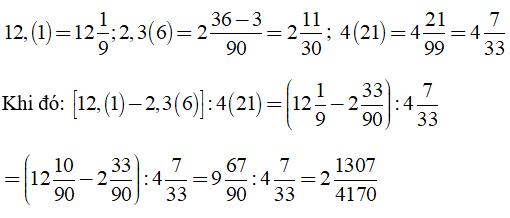 Trắc nghiệm: Số thập phân hữu hạn. Số thập phân vô hạn tuần hoàn
