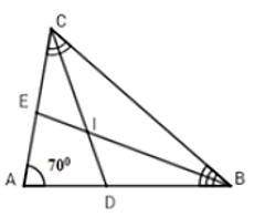 Trắc nghiệm: Tính chất tia phân giác của một góc