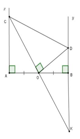 Trắc nghiệm: Trường hợp bằng nhau thứ ba của tam giác: góc - cạnh - góc