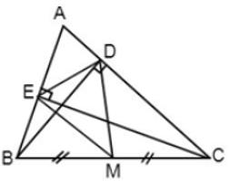 Trắc nghiệm: Tính chất ba đường trung trực của tam giác