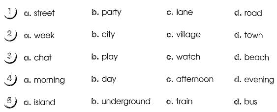Bài tập cuối tuần môn Tiếng Anh lớp 5 Tuần 8