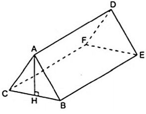 Bài tập: Hình lăng trụ đứng