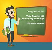 Những câu nói hài hước nhất của giáo viên Việt Nam