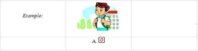 Đề thi học kì 1 lớp 3 môn tiếng Anh có file nghe